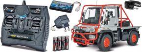 ausverkauft | CARSON 500907251 Unimog U300 Desert Rally 2.4GHz | RC Unimog Komplett-RTR 1:12