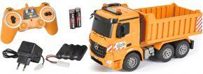 CARSON 500907284 Muldenkipper 2.4GHz | RC Baumaschine Komplett-RTR 1:20 kaufen