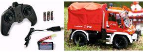 CARSON 500907721 MB Unimog U300 Feuerwehr 2.4GHz | RC Auto Komplett-RTR 1:12 kaufen