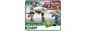 COBI 2048 Figuren D-Day 1944 | Militär Baukasten kaufen
