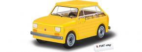 COBI 24530 FIAT 126 gelb | Auto Baukasten kaufen
