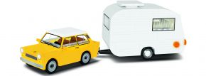 COBI 24590 Trabant 601 + Wohnwagen | Auto Baukasten kaufen