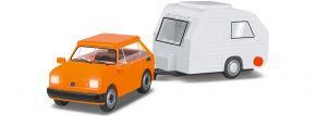 COBI 24591 Fiat 126 + Wohnwagen | Auto Baukasten kaufen