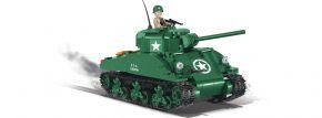 COBI 2464A Sherman M4A1 | Panzer Baukasten kaufen