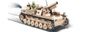 COBI 2528 DAK 15cm sIG auf Pz.Kpfw.II | Panzer Baukasten kaufen