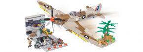 COBI 5546 Supermarine Spitfire mit Wartungs-Hangar | Flugzeug Baukasten kaufen