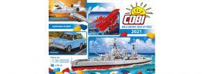 COBI Prospekt Build History, Piece by Piece 2021 | Englisch | GRATIS kaufen
