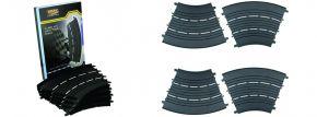 DMX 17504924 Erweiterungspackung Kurven-Set 45° | 4 Stück kaufen