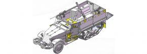 DRAGON 3597 IDF M3 Halftrack Mortar Carrier | Militär Bausatz 1:35 kaufen