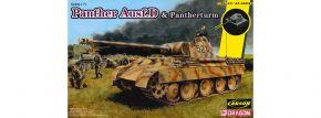 DRAGON 6940 Sd.Kfz.171 Panther Ausf.D mit Pantherturm | Panzer Bausatz 1:35 kaufen