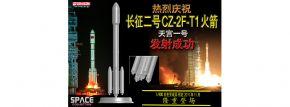 DRAGON 756400 CZ-2F-T1 Rocket | Rakete Fertigmodell 1:400 kaufen