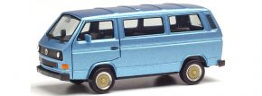 herpa 430876 VW T3 Bus mit BBS-Felgen blaumetallic Automodell 1:87 kaufen