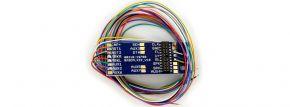 ESU 51958 Adapterplatine PluX22 für 9 Ausgänge, Lötkontakten und angelöteten Kabeln   Spur H0 kaufen