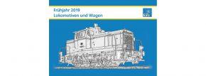 ESU 52962 Lokomotiven Frühjahr 2019 deutsch DIN A4 kaufen