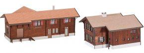 FALLER 110127 Bahnhof-Set Stugl-Stuls LaserCut Bausatz 1:87 kaufen