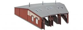FALLER 120177 Ringlokschuppen lang | 3-ständig | Bausatz Spur H0 kaufen