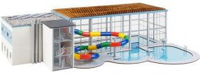 FALLER 130150 Hallenbad mit Rutsche | Gebäude Bausatz Spur H0 kaufen
