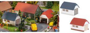 FALLER 130622 Garagen | 2 Stück | Gebäude Bausatz Spur H0 kaufen