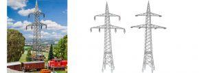 FALLER 130898 2 Freileitungsmasten (100 kV) | Zubehör Spur H0 kaufen