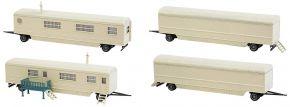 FALLER 140481 Kirmeswagen-Set II Bausatz Spur H0 kaufen