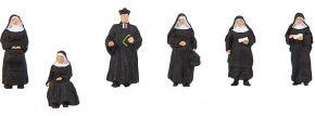FALLER 150942 Nonnen und Pfarrer | 6 Stück | Figuren Spur H0 kaufen
