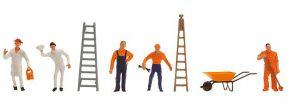 FALLER 151091 Straßenkehrer und Kanalarbeiter Figuren 1:87 kaufen