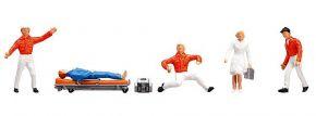 FALLER 151095 Rettungsdienst im Einsatz | 5 Miniaturfiguren Spur H0 kaufen