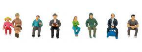 FALLER 151617 Fahrgäste   7 Stück   Figuren Spur H0 kaufen