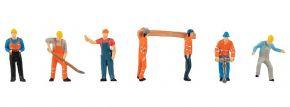 FALLER 151665 Auf der Baustelle | 6 Stück | Figuren Spur H0 kaufen