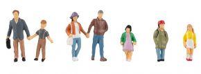 FALLER 151666 Eltern mit Kindern | 5 Stück | Figuren Spur H0 kaufen