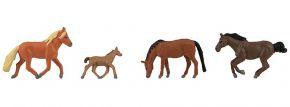 FALLER 151912 Pferde | 4 Stück | Figuren Spur H0 kaufen