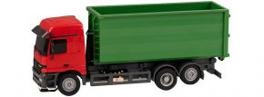 FALLER 161493 MB Actros LH96 Abrollcontainer (Herpa) | Car System Spur H0 kaufen