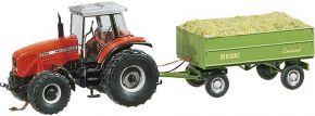 FALLER 161536 Traktor MF mit Anhänger Spur H0 kaufen