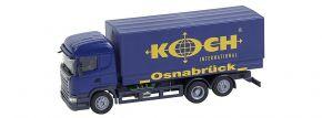 FALLER 161595 Scania R 2013 HL Gardinenplanen-LKW Koch CarSystem Fahrzeug Spur H0 kaufen