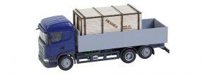 FALLER 161597 Scania R 2013 HL Pritschen-LKW  mit Holzkiste CarSystem Fahrzeug Spur H0 kaufen