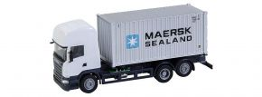 FALLER 161598 Scania R 2013 TL mit Seecontainer MAERSK CarSystem Fahrzeug Spur H0 kaufen