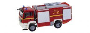 FALLER 161599 MAN TGS Löschfahrzeug Feuerwehr CarSystem Fahrzeug Spur H0 kaufen
