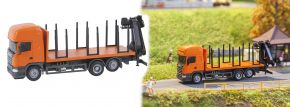 FALLER 161634 CarSystem Scania R13 Kurzholz LKW (herpa) Fertigmodell 1:87 kaufen