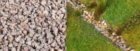 FALLER 170304 Streumaterial Flusssteine beige 650gr für alle Spurweiten geeignet kaufen