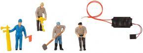 FALLER 180238 Figuren-Set Gleisbauarbeiter & Tremolo mit Mini-Sound-Effekt   4 Stück   Spur H0 kaufen