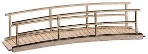 FALLER 180301 Kleine Holzbrücke | Lasercut Bausatz Spur H0 kaufen