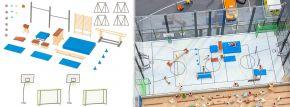 FALLER 180354 Turnhalleneinrichtung Bausatz Spur H0 kaufen