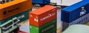 FALLER 180822 20 ft Container HAMBURG SÜD | Spur H0 kaufen