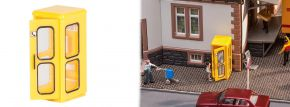 FALLER 180955 Telefonzelle Bundespost Bausatz 1:87 kaufen