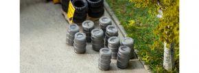 FALLER 180971 10 Aluminium-Bierfässer   Zubehör Spur H0 kaufen