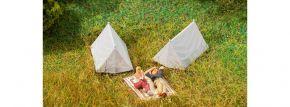 FALLER 180987 Zelte | 4 Stück | Zubehör Spur H0 kaufen