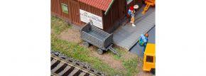 FALLER 180990 Bahnsteigwagen, grau | 2 Stück | Bausatz Spur H0 kaufen