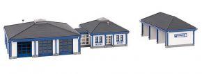 FALLER 222222 THW-Gebäude mit Fahrzeughalle Bausatz 1:160 kaufen