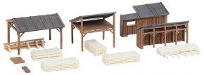 FALLER 232373 Holzlagerschuppen Bausatz Spur N kaufen
