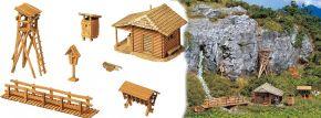 FALLER 272532 Jagdhütte mit Hochsitz | Bausatz Spur N kaufen